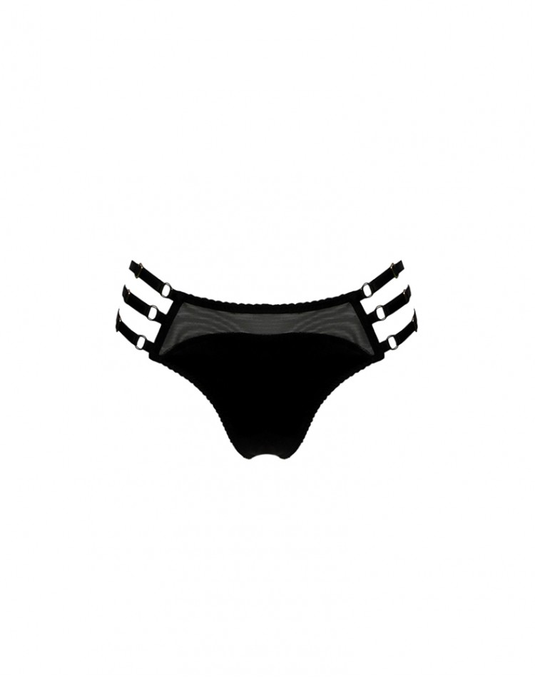 Adjustable Side Thong - Dahlia