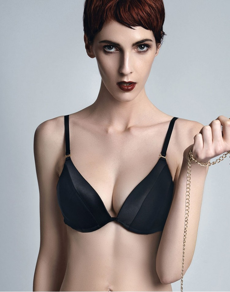 Pushup Bra - Onyx