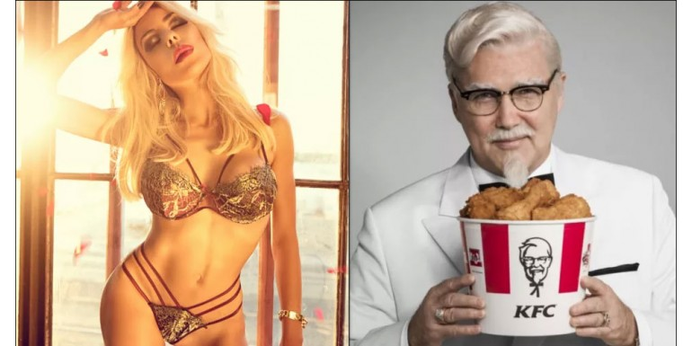 Meet the KFC heiress-turned-lingerie designer who's hotter than a 3-piece chicken dinner